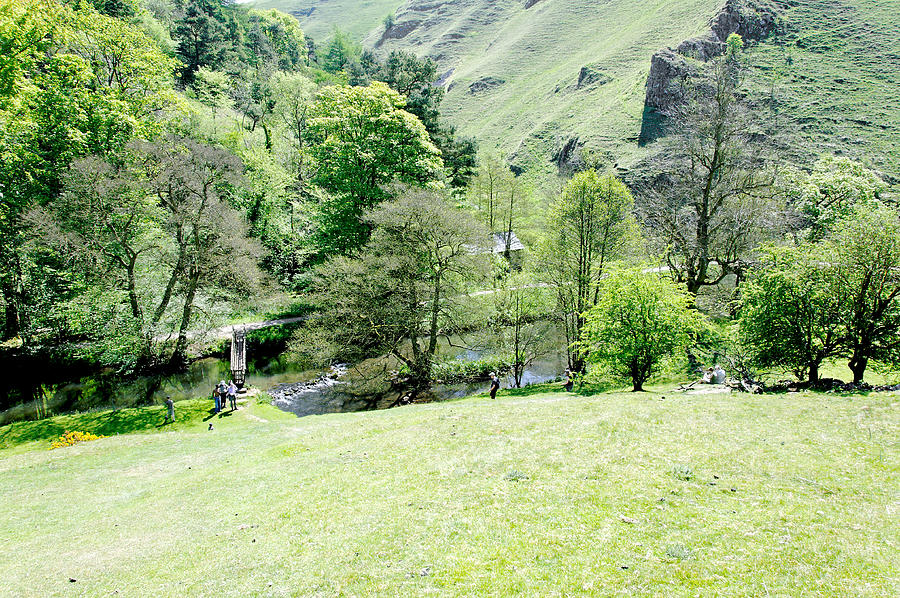 Wolfscote Dale From Gipsy Bank Photograph  - Wolfscote Dale From Gipsy Bank Fine Art Print