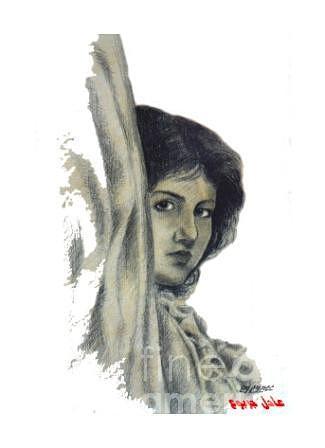Woman-3 Drawing