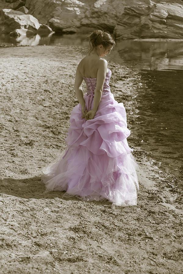 Female Photograph - Woman At The Beach by Joana Kruse