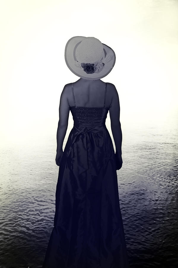 Woman At The Shore Photograph  - Woman At The Shore Fine Art Print