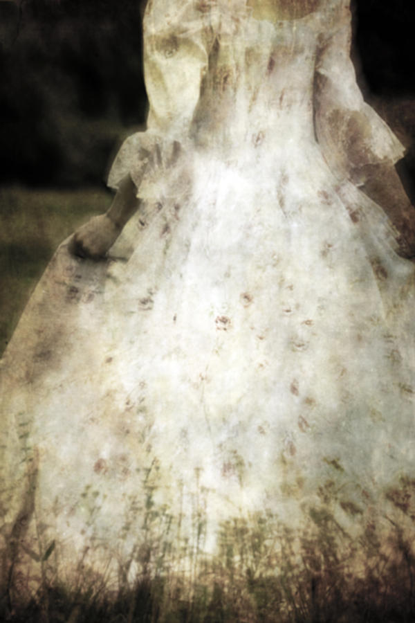 Woman In A Meadow Photograph  - Woman In A Meadow Fine Art Print