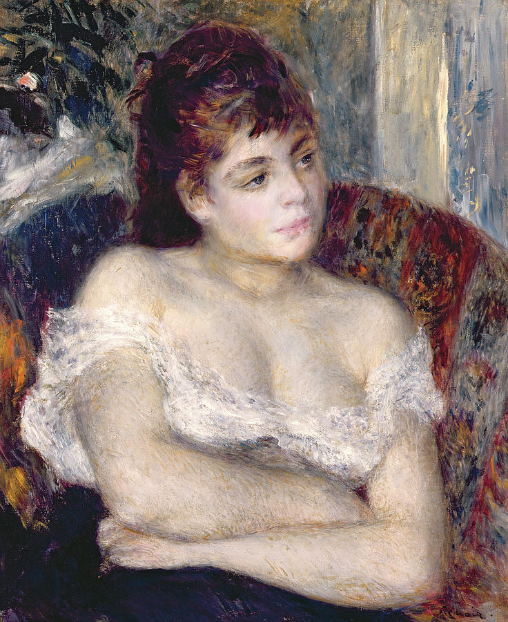Woman In An Armchair Painting