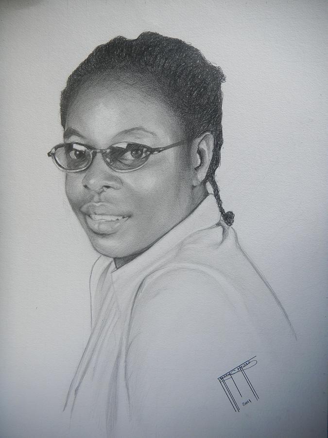 Woman In Glasses by Jeffrey Samuels