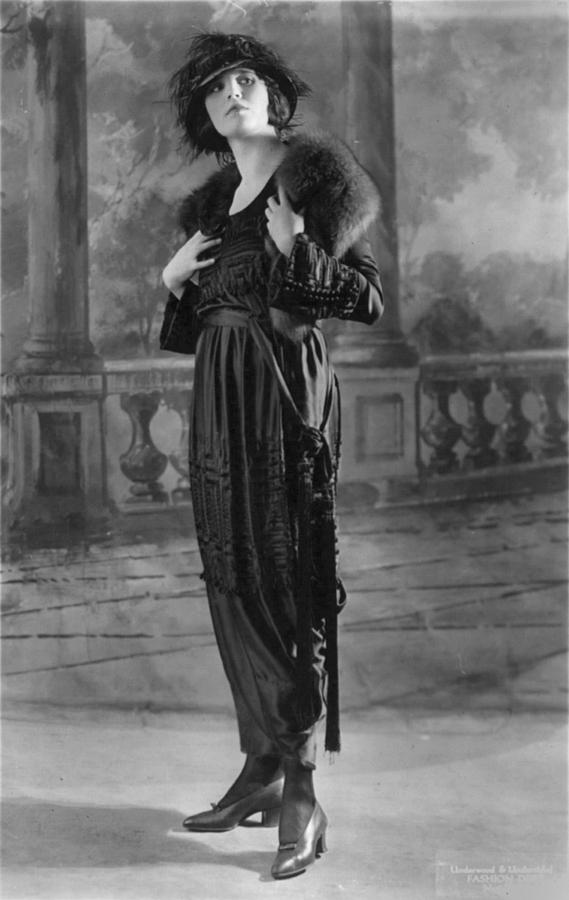 Woman Modeling Dress, A Frock Of Moon Photograph