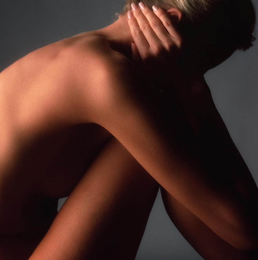 Womans Shoulder Photograph