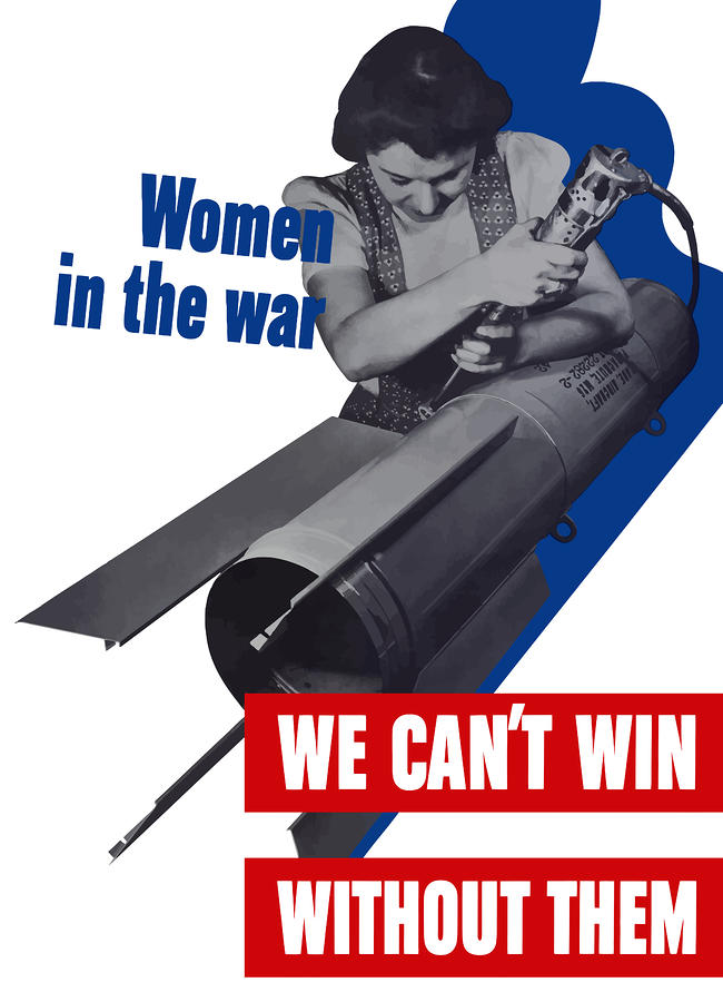 Women In The War Digital Art