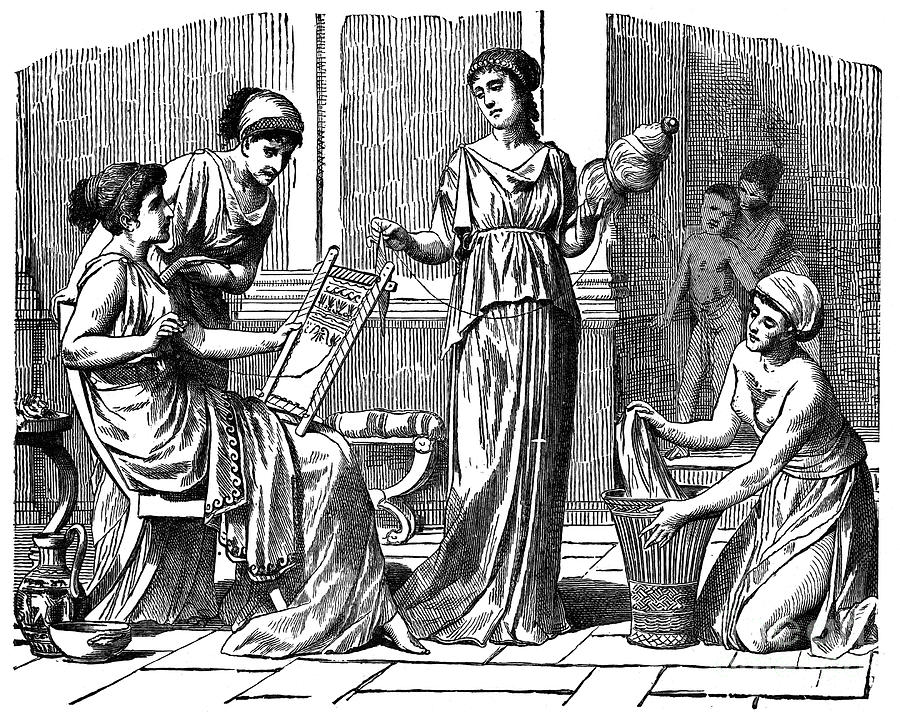 a history of womens rights in ancient greece