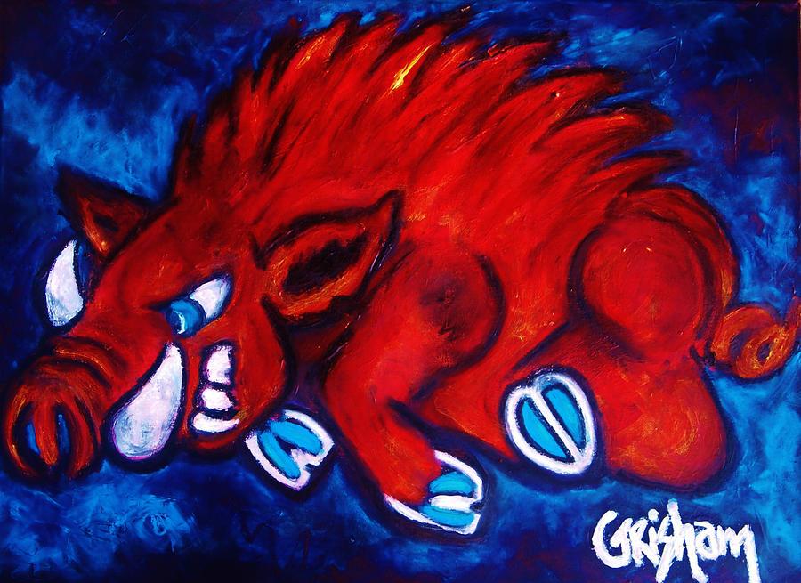 Woo Pig Painting