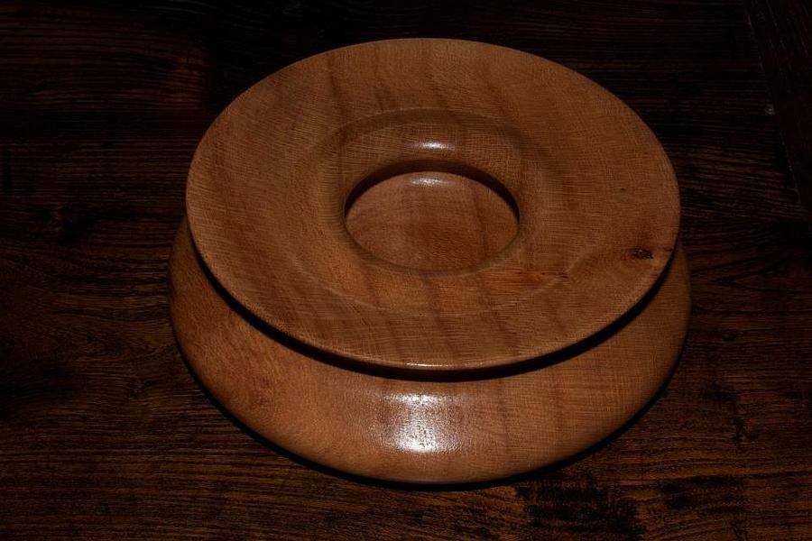 Wood Bowl View 2 Sculpture
