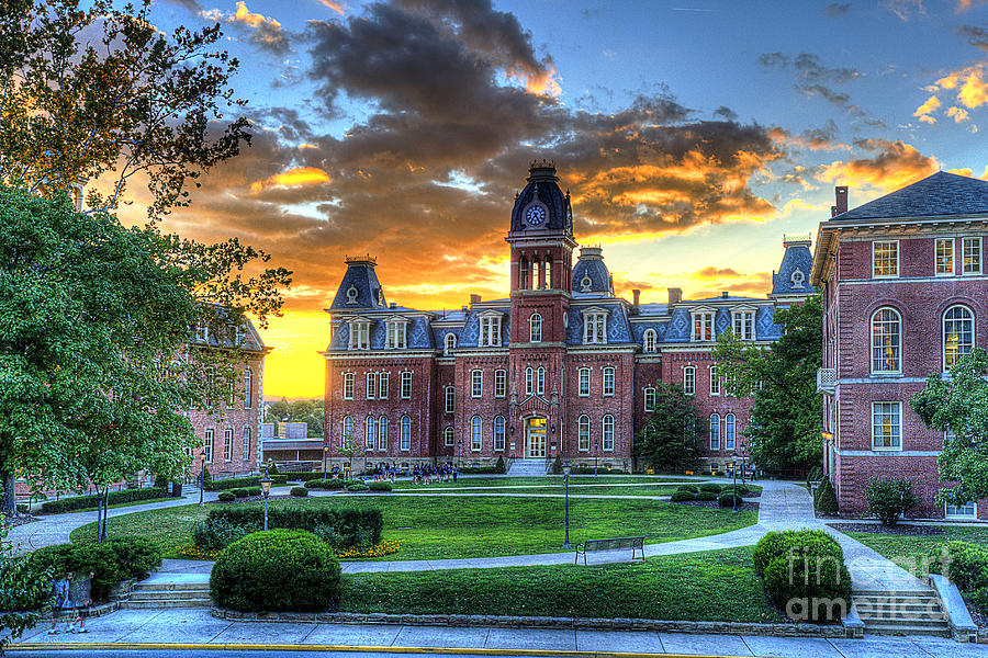 Woodburn Hall In Evening Photograph
