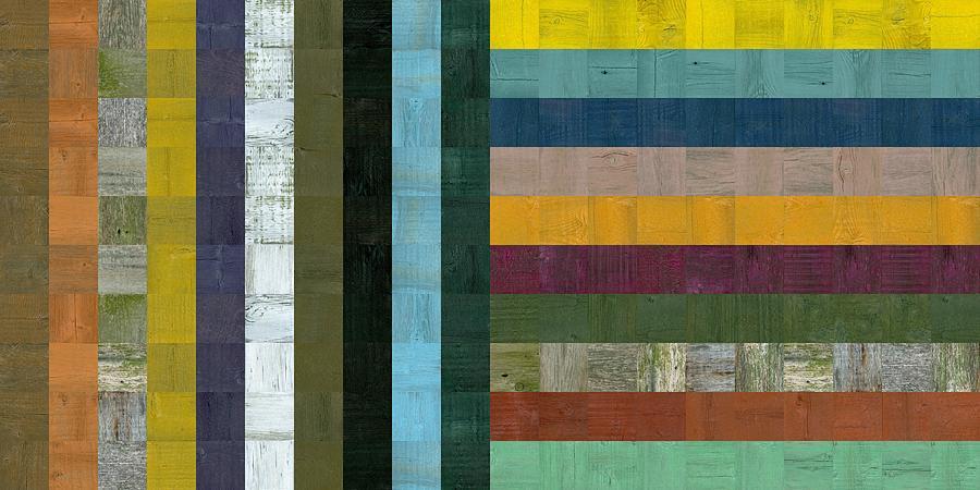 Wooden Abstract Vl  Digital Art
