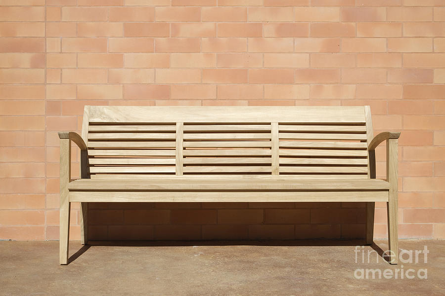 Lastest Bench Against A Wall  StockyPics