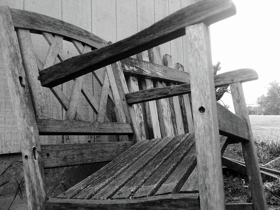 Wooden Chair Photograph