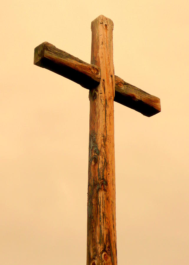 Wooden Cross Photograph