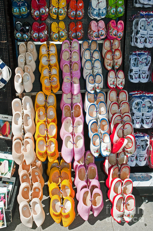 Wooden Shoes  Photograph  - Wooden Shoes  Fine Art Print