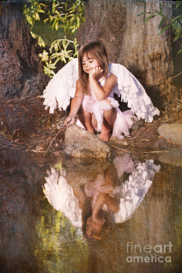 Woodland Fairy Photograph  - Woodland Fairy Fine Art Print