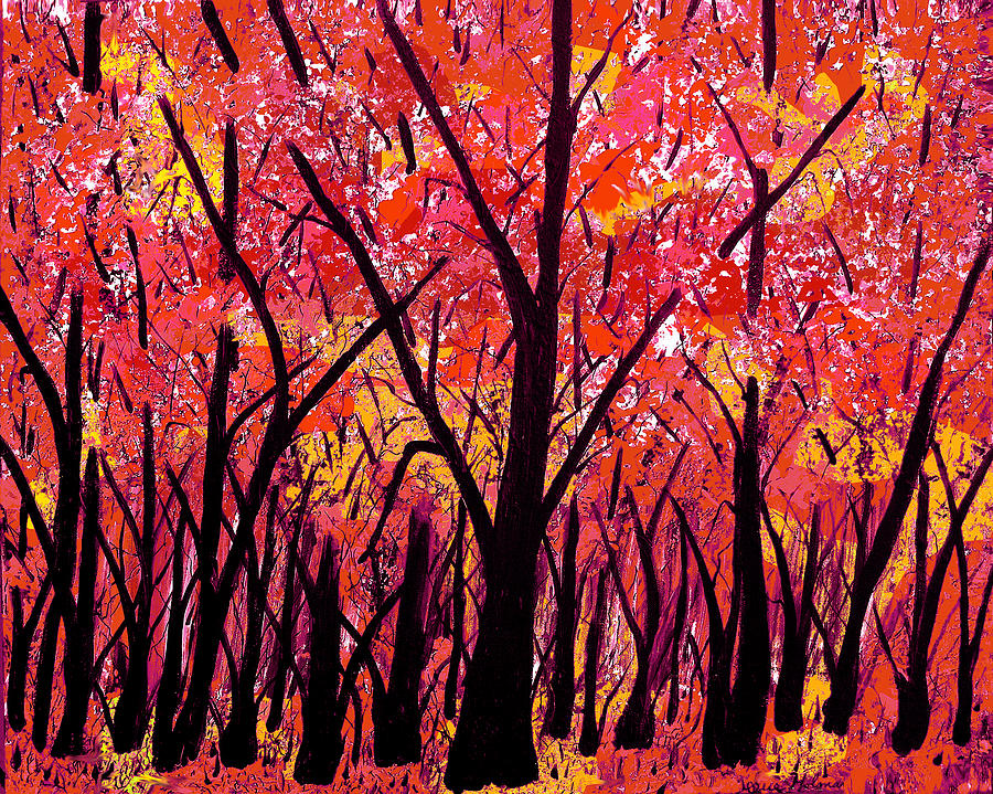 Woodland Glory Painting  - Woodland Glory Fine Art Print