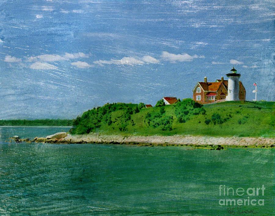 Woods Hole Lighthouse Photograph