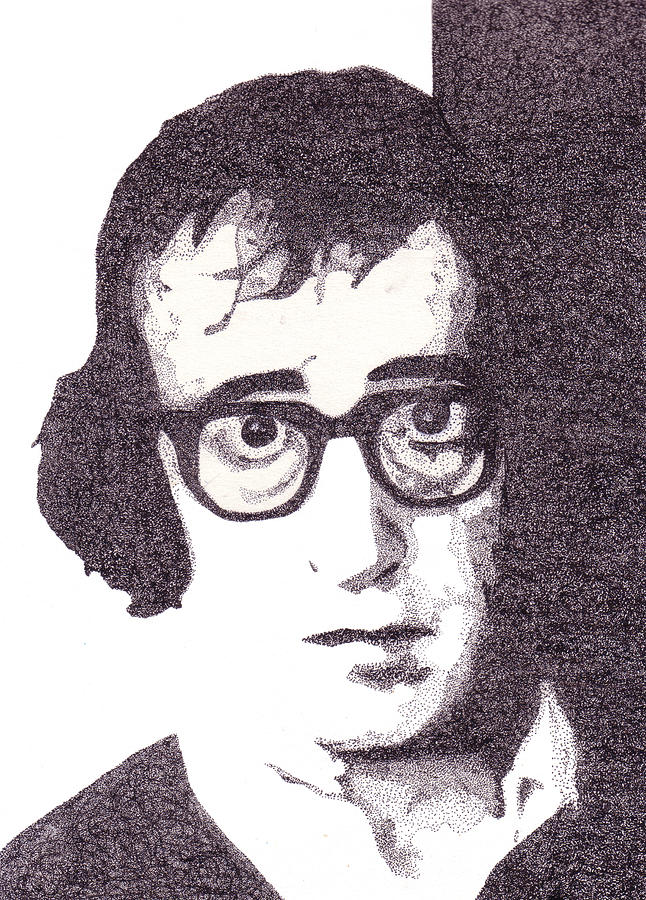 Woody Allen Drawing  - Woody Allen Fine Art Print