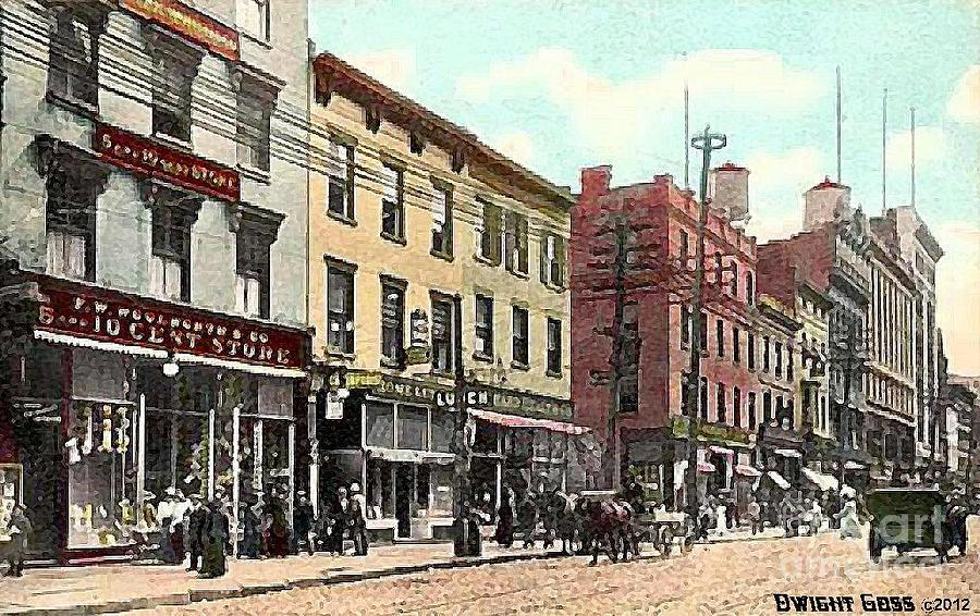 Woolworth's On Pearl St. In Albany N Y In 1911 by Dwight Goss