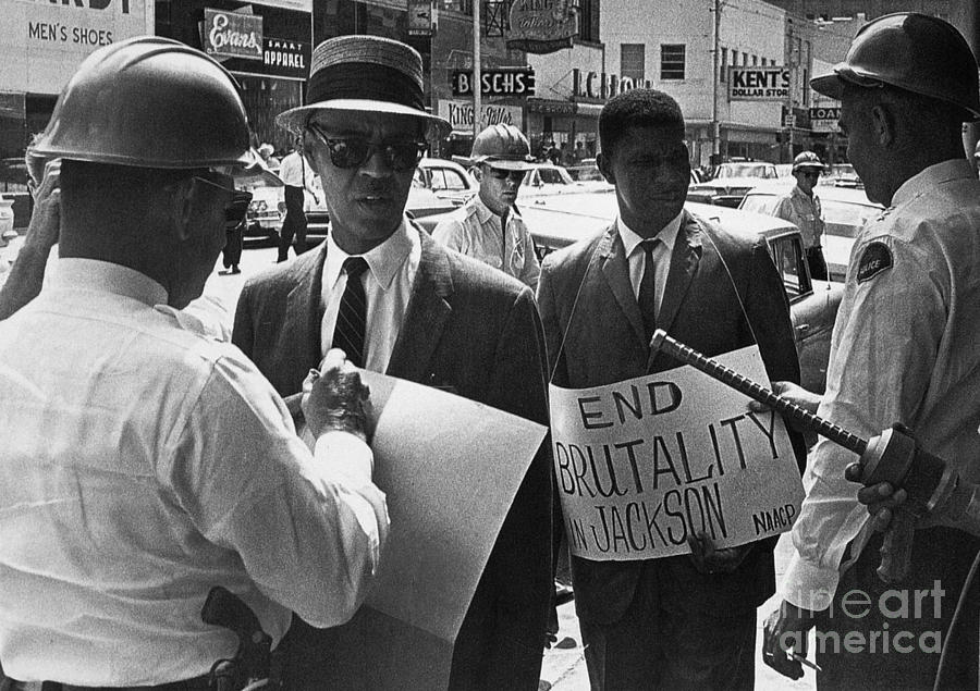 Woolworths Protest, 1963 Photograph