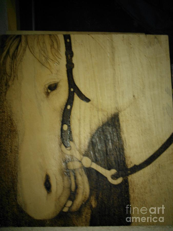 Work In Progress Encore Day 3 Pyrography  - Work In Progress Encore Day 3 Fine Art Print