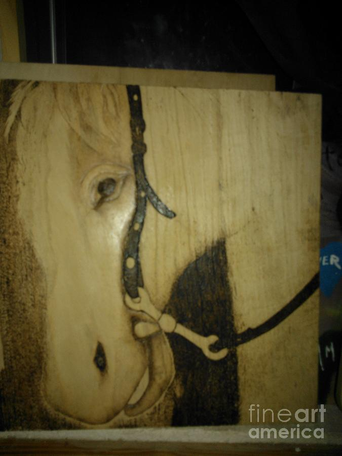 Work In Progress Encore Day 4 Pyrography  - Work In Progress Encore Day 4 Fine Art Print