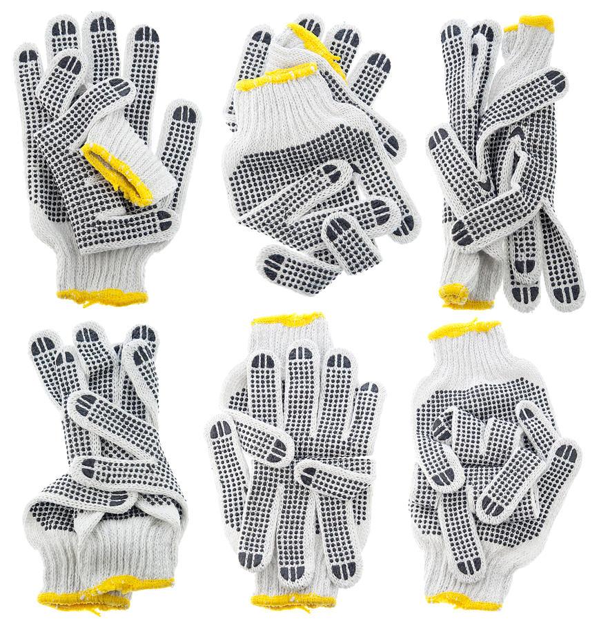 Gloves Tapestry - Textile - Working Gloves Secret Magic Gestures Set by Aleksandr Volkov