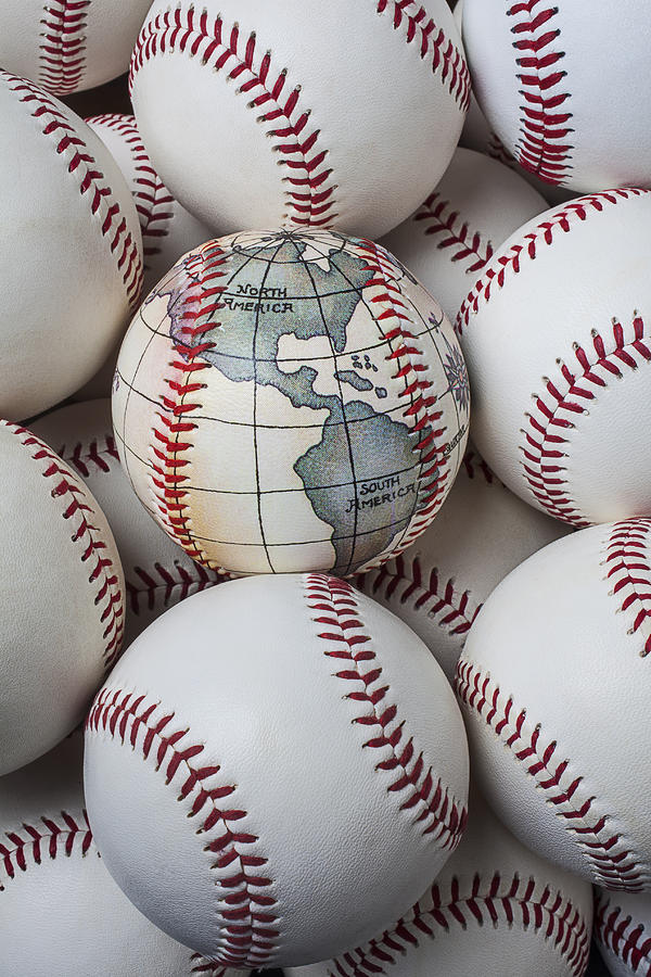 World Baseball Photograph  - World Baseball Fine Art Print