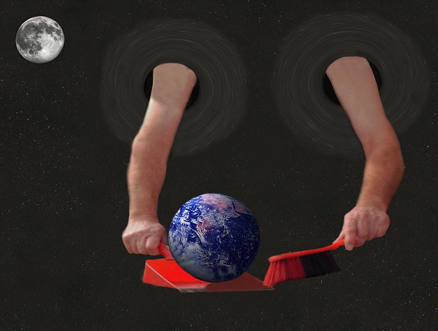 World Corruption  Mixed Media