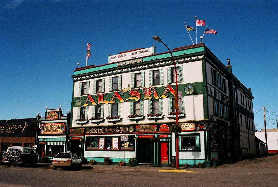 World Famous Alaska Hotel Photograph