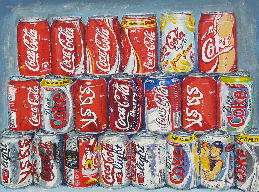 World Of Coca Cola Painting