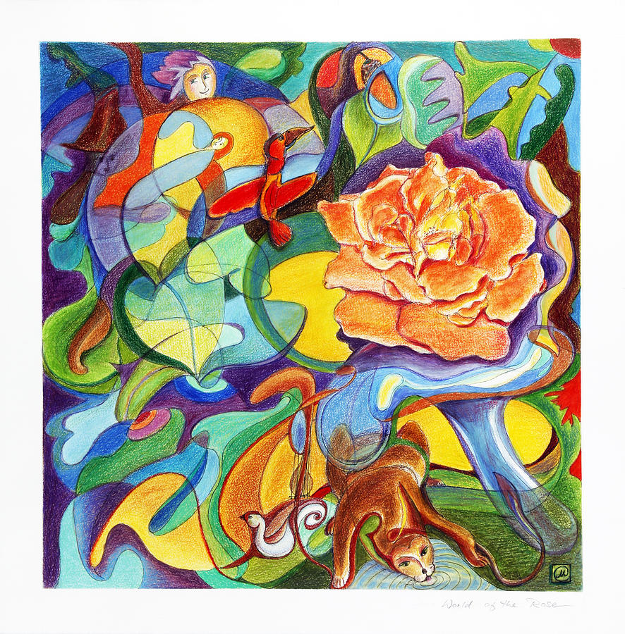 World Of The Rose Painting