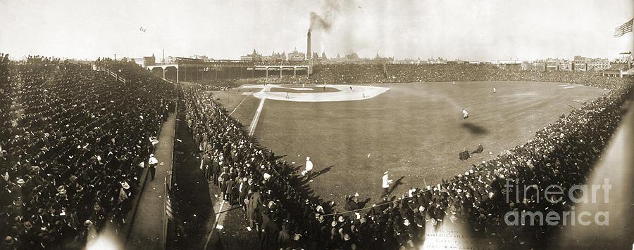1906 Photograph - World Series, 1906 by Granger