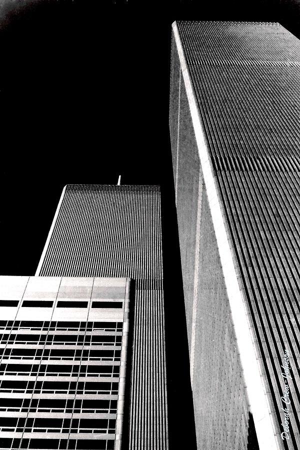 World Trade Center Pillars Photograph