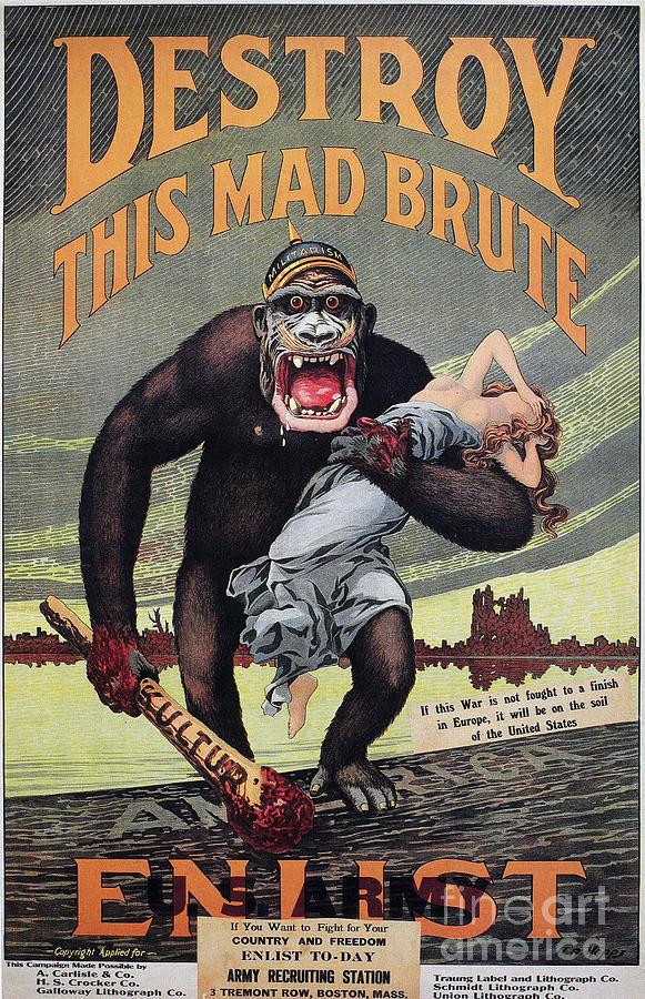 World War I: Recruitment Photograph
