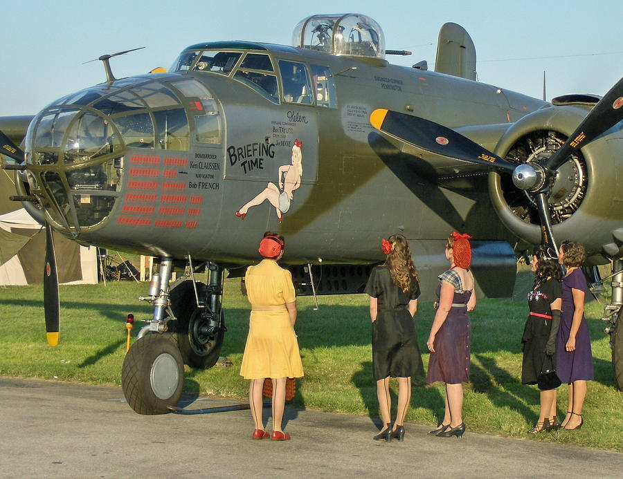 world-war-ii-b-25-bomber-briefing-time-a