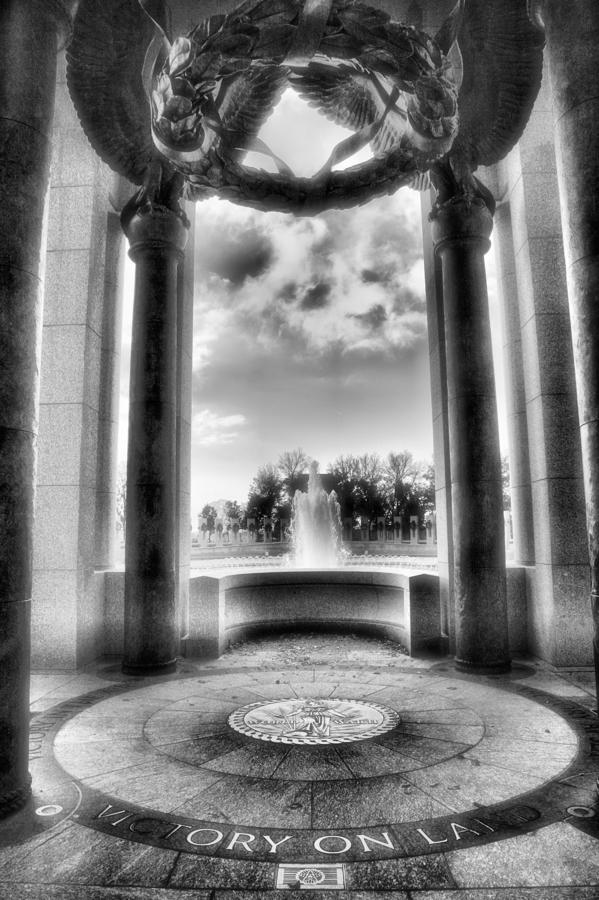 World War II Memorial Photograph  - World War II Memorial Fine Art Print