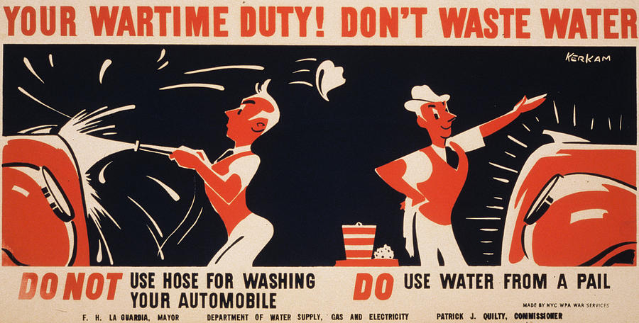 World War II, Poster For A New York Photograph
