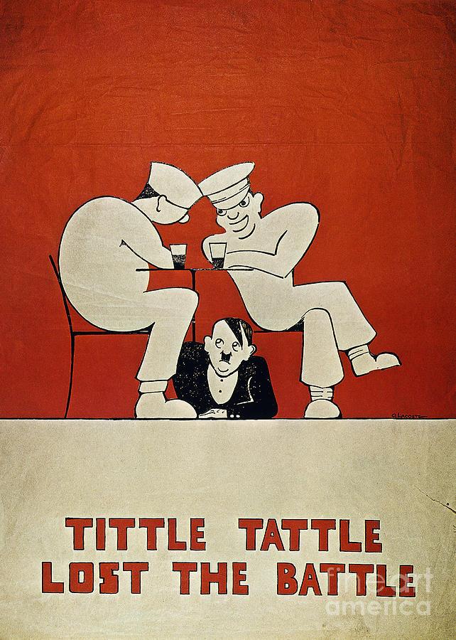 World War II: Poster Photograph