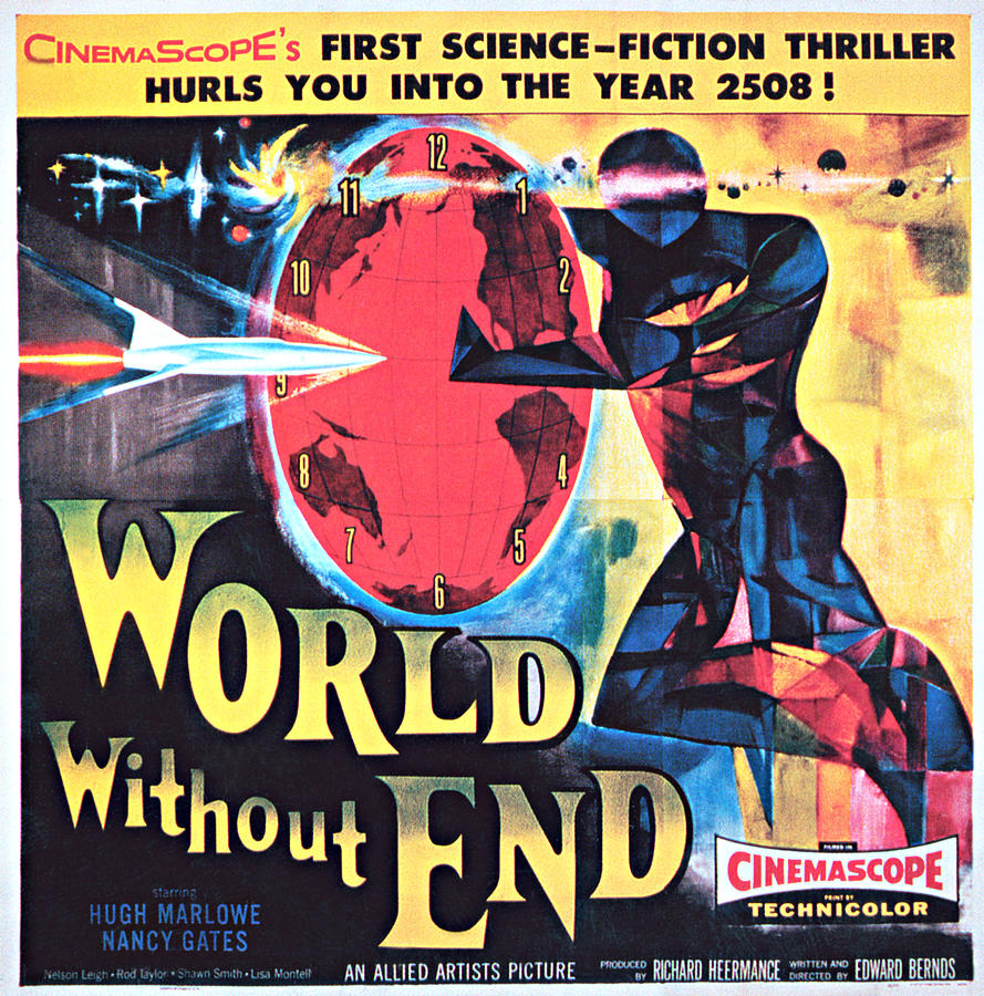 World Without End, Poster Art, 1956 Photograph