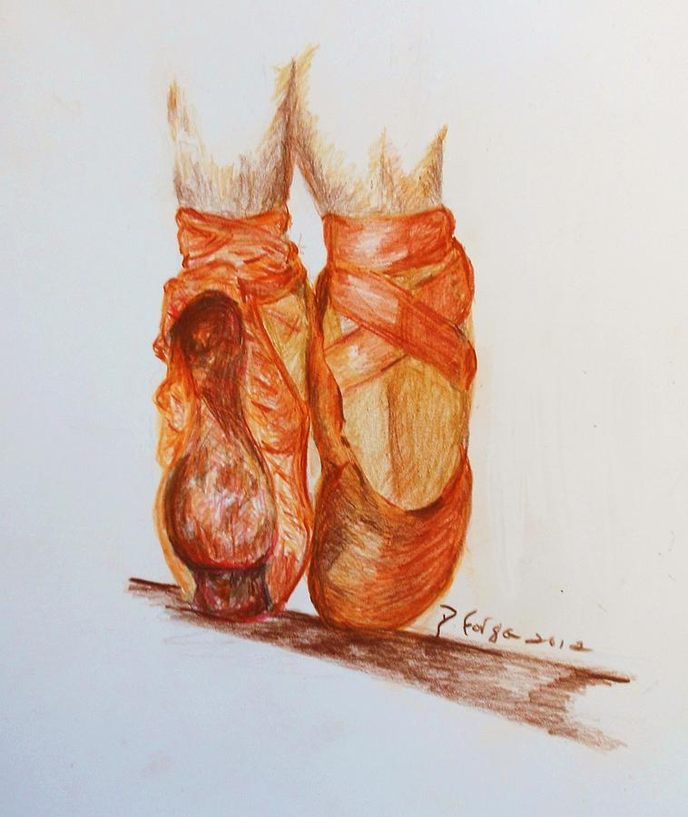 Shoes Pastel - Worn Slippers by Deborah Gorga