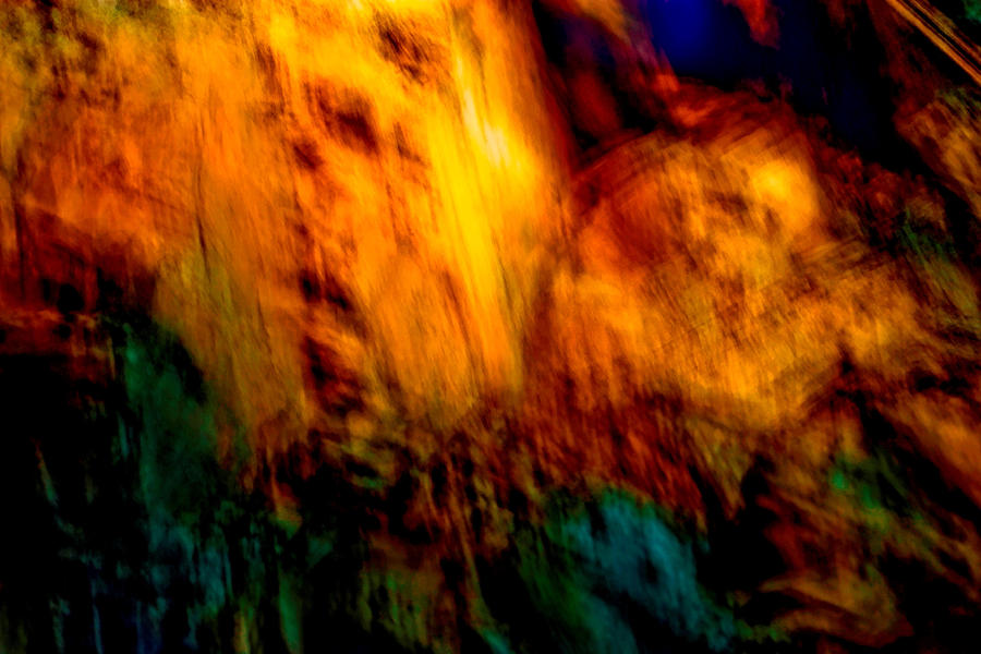 Wounded Earth 2 Painting  - Wounded Earth 2 Fine Art Print