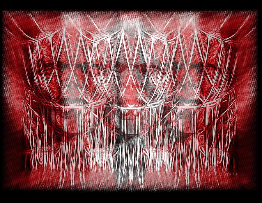 Wrath Threefold Digital Art