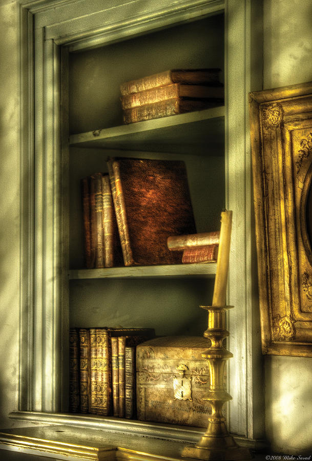 Writer - In The Library  Photograph  - Writer - In The Library  Fine Art Print