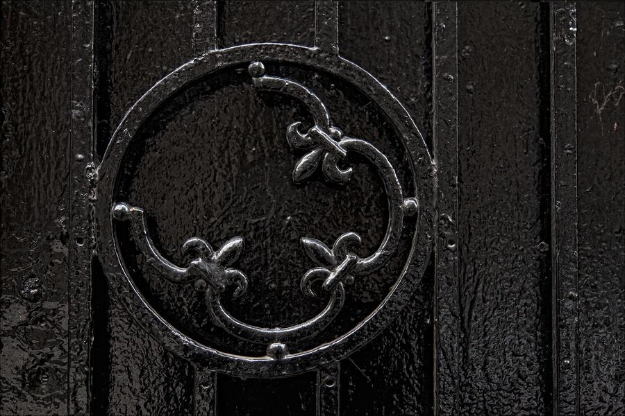 Wrought Iron Design Photograph