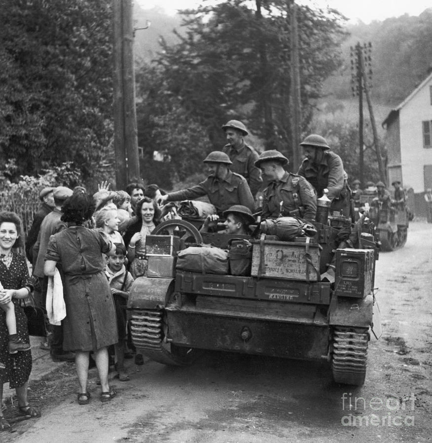 Wwii Liberation Of France Photograph