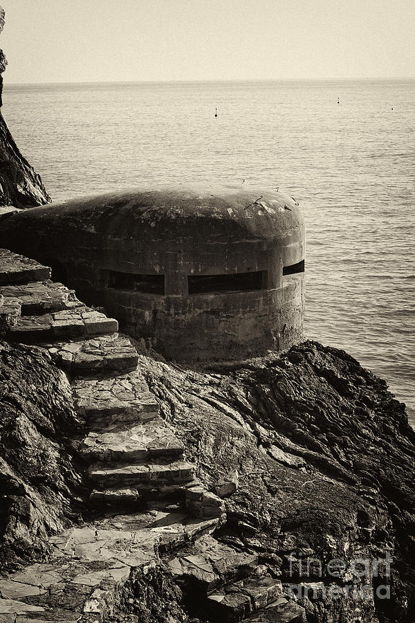 Wwii Pill Box Photograph  - Wwii Pill Box Fine Art Print