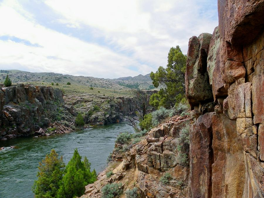 Wyoming River Photograph