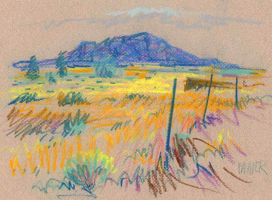 Wyoming Roadside Painting